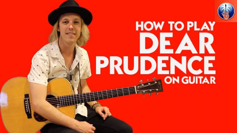How to Play Dear Prudence On Guitar