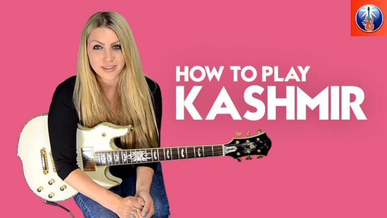 How To Play Kashmir