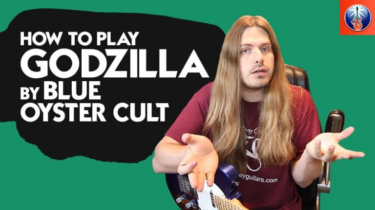 How to Play Godzilla On Guitar