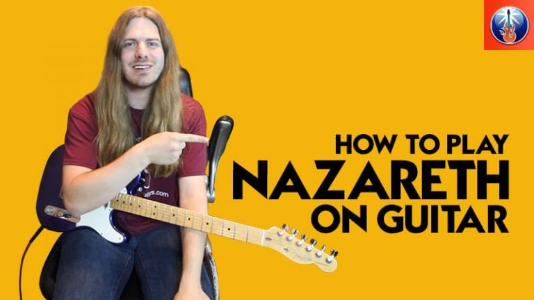 How to Play Nazareth On Guitar
