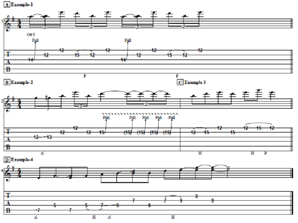 Play These Simply Easy Pentatonic Licks Now