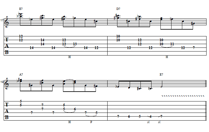 Easy Rock Lick That You Can Use in A Blues