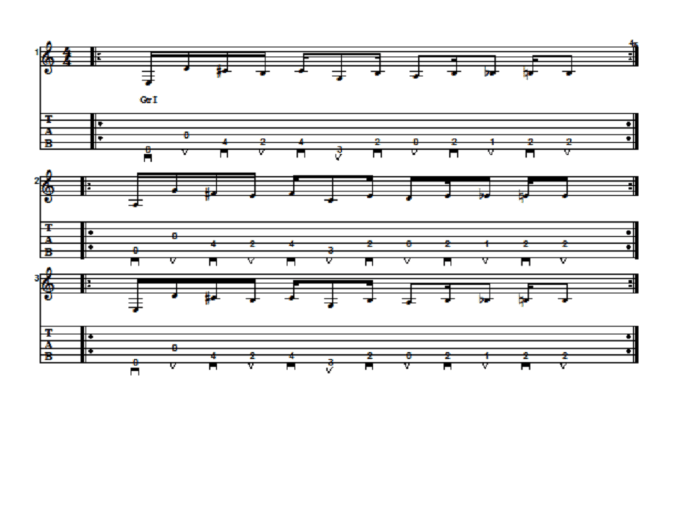 AC/DC Riff For Remarkable Improvement